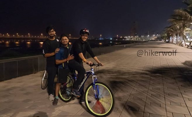 Boys Ready For Midnight Cycling Drive | Hikerwolf