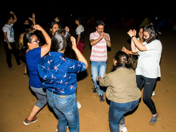 Dance party at Bhandardara camping and stargazing