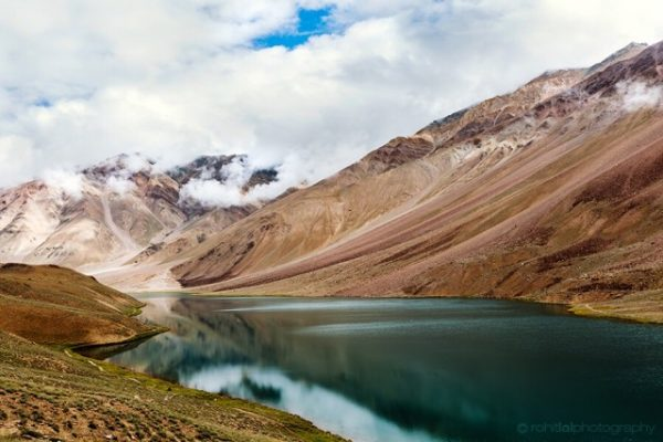 Chandratal Lake - places to visit in Spiti Valley