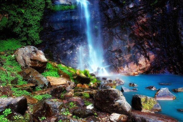 Tirthan Valley Waterfall