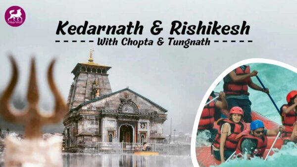 The Lord Shiva Temple Near Mandakini River | Kedarnath Trek - Hikerwolf