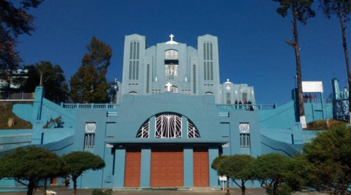 Mary Help for Christian Cathedral  Places to Visit in Shillong- Hikerwolf