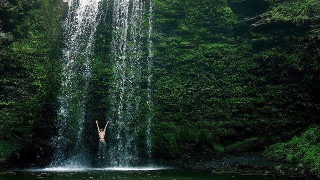 Spread Eagle Falls  Shillong Sightseeing- Hikerwolf