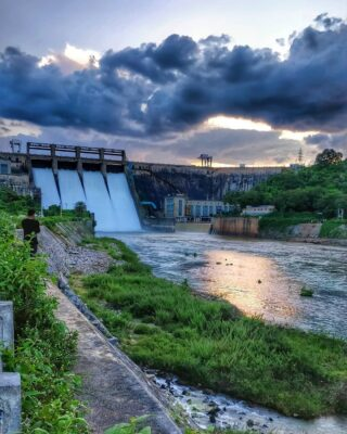 Bhadra dam at Chikmagalur